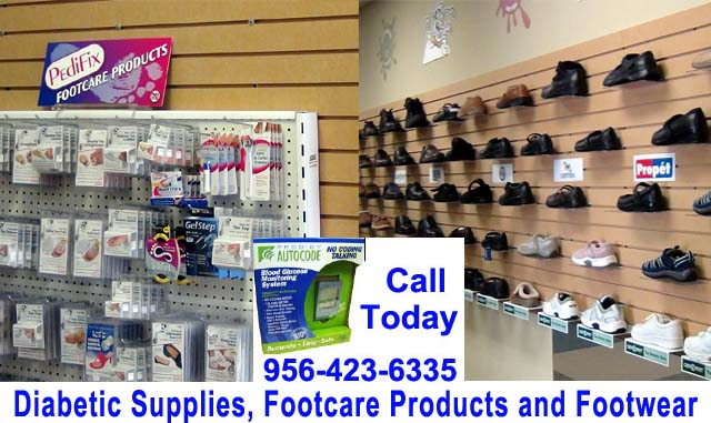 Diabetic Supplies, Foot care Products and Footwear - Rio Grande Valley